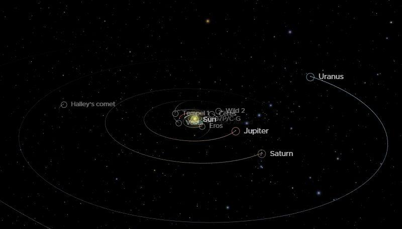 3D модели планет солнечной системы